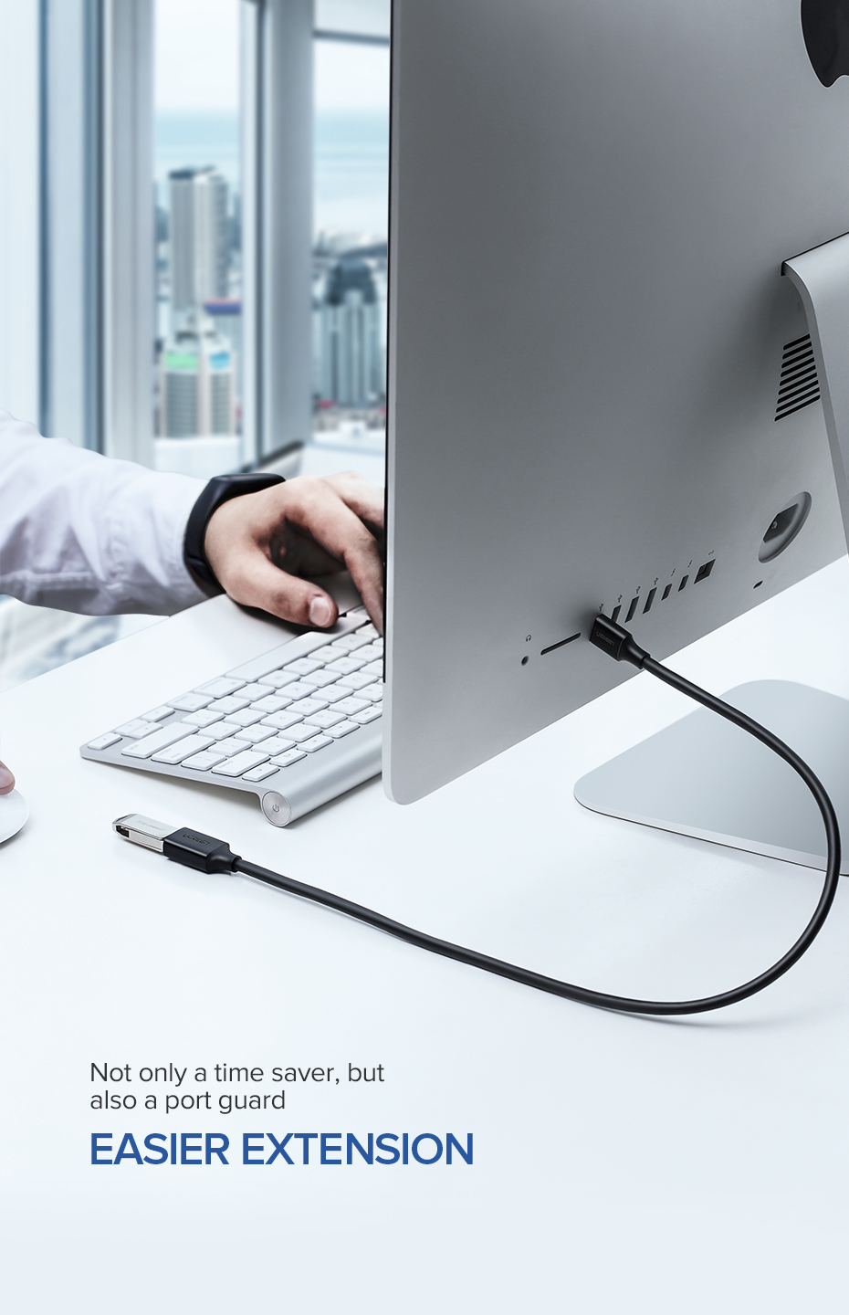 USB Extension Cable for Smart TV and PC