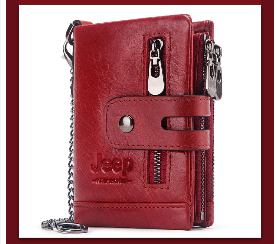 Men's Personalized Leather Wallet