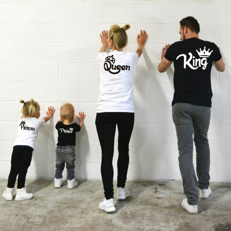 Cotton Family Matching T-Shirts