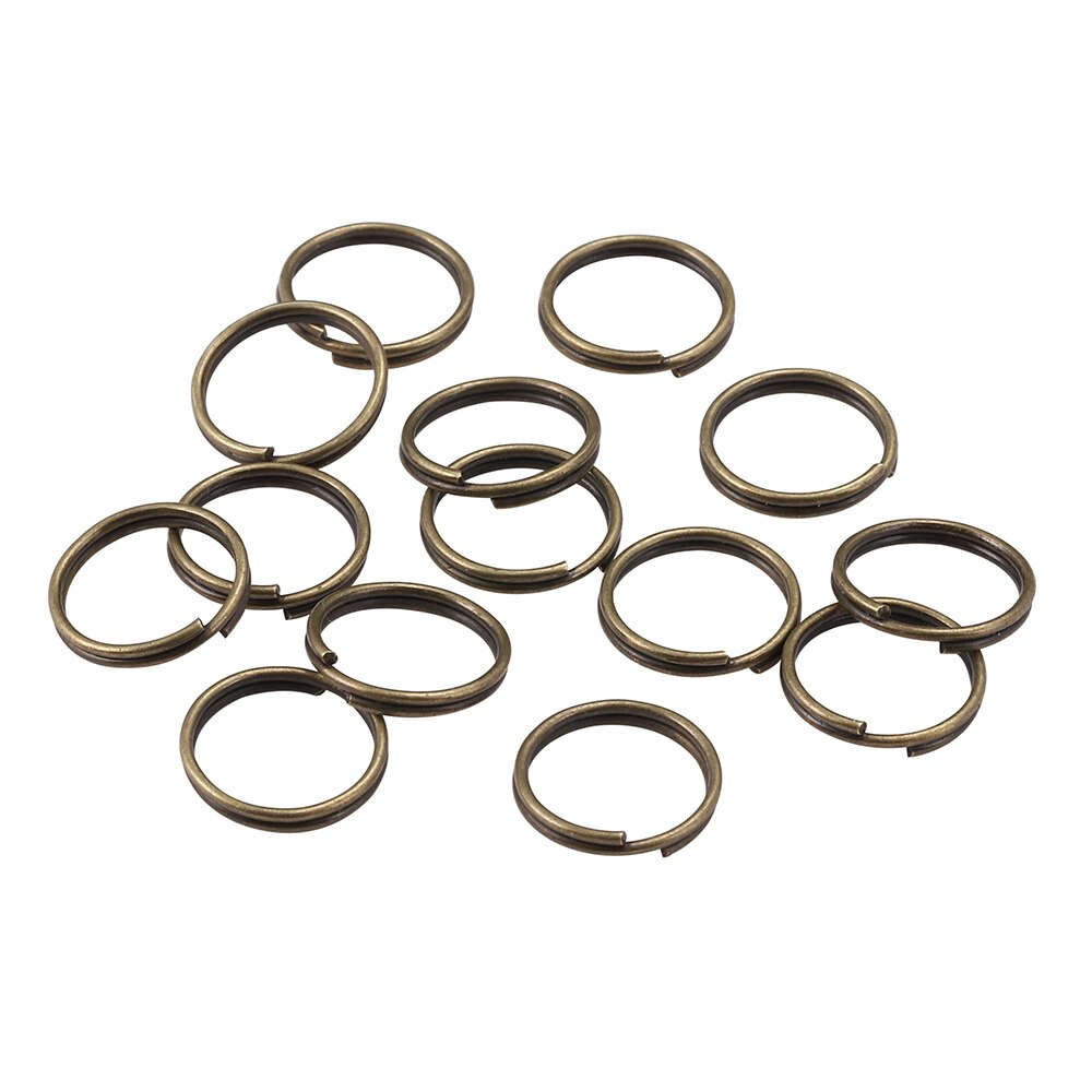 200 Matte Ring Components for Jewelry