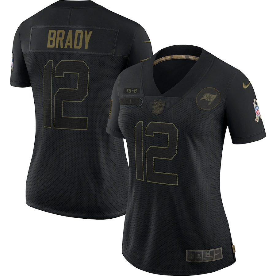 NFL TEAM PLAYERS Women's 2020 Salute To Service Limited Jersey