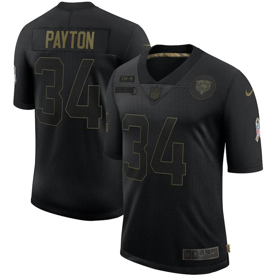 NFL TEAM PLAYERS 2020 Salute To Service Limited Jersey