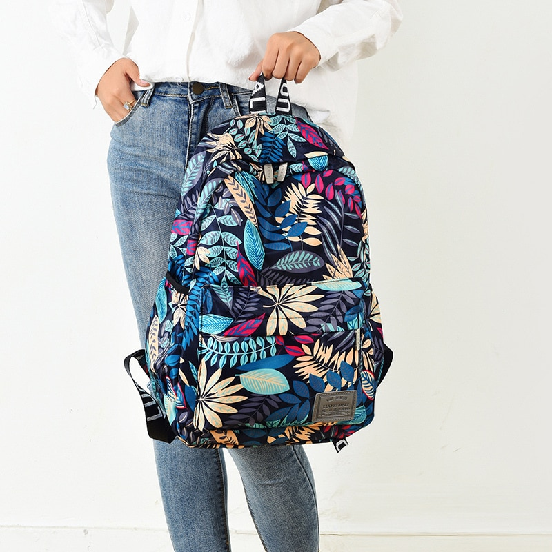 Printed 3D Style Backpack