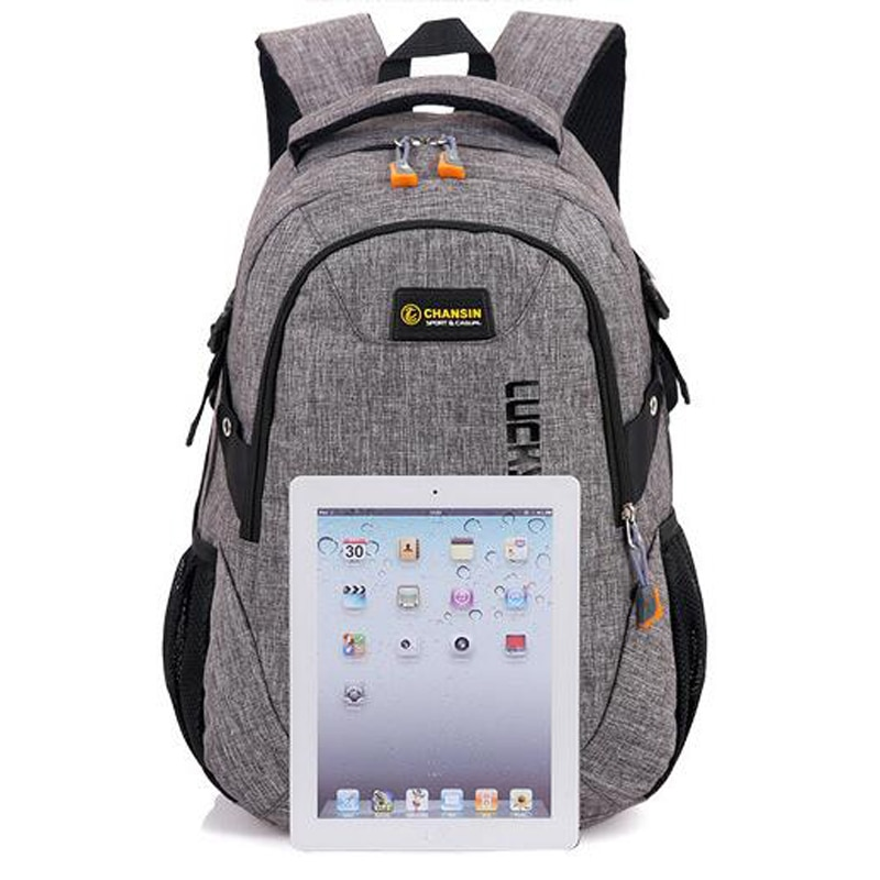 Teenager's Linen School Backpack