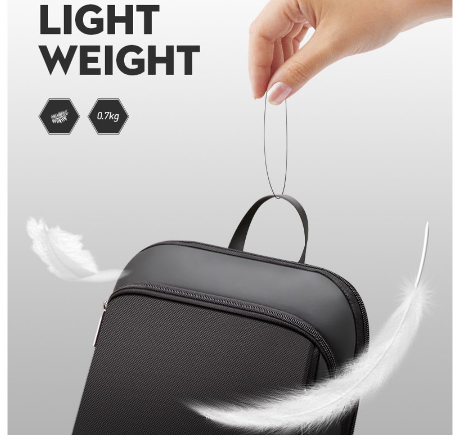 Ultra Thin Office USB Backpack