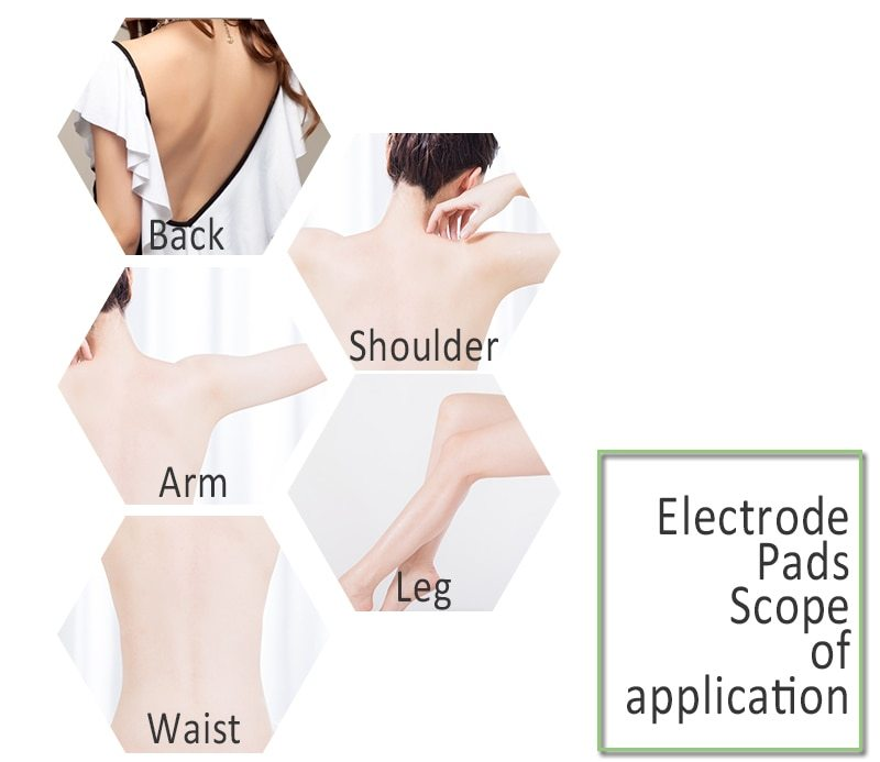 Acupuncture Therapy EMS Patches Set