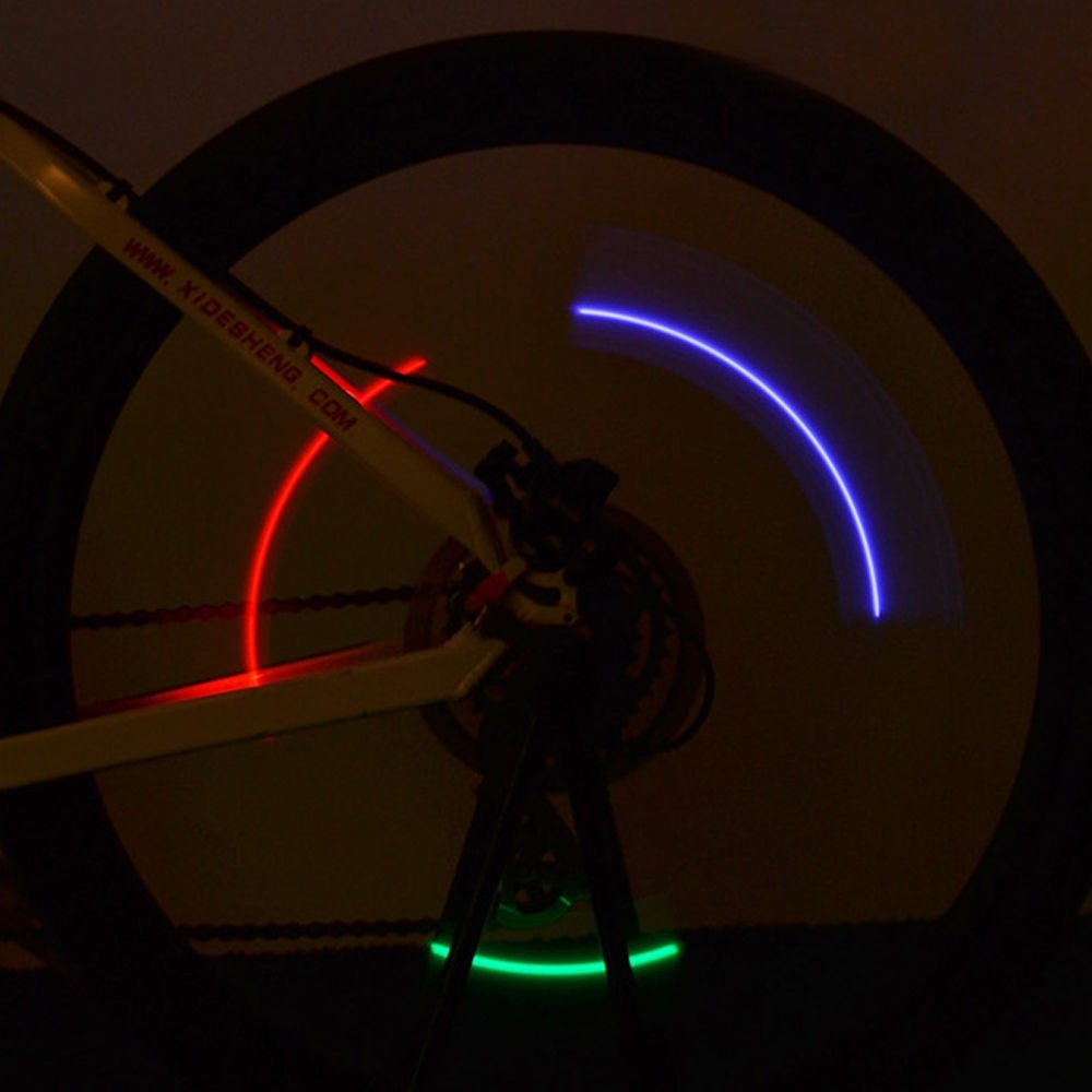 Decorative Bicycle Wheel LED Flash Lights with Batteries Inside