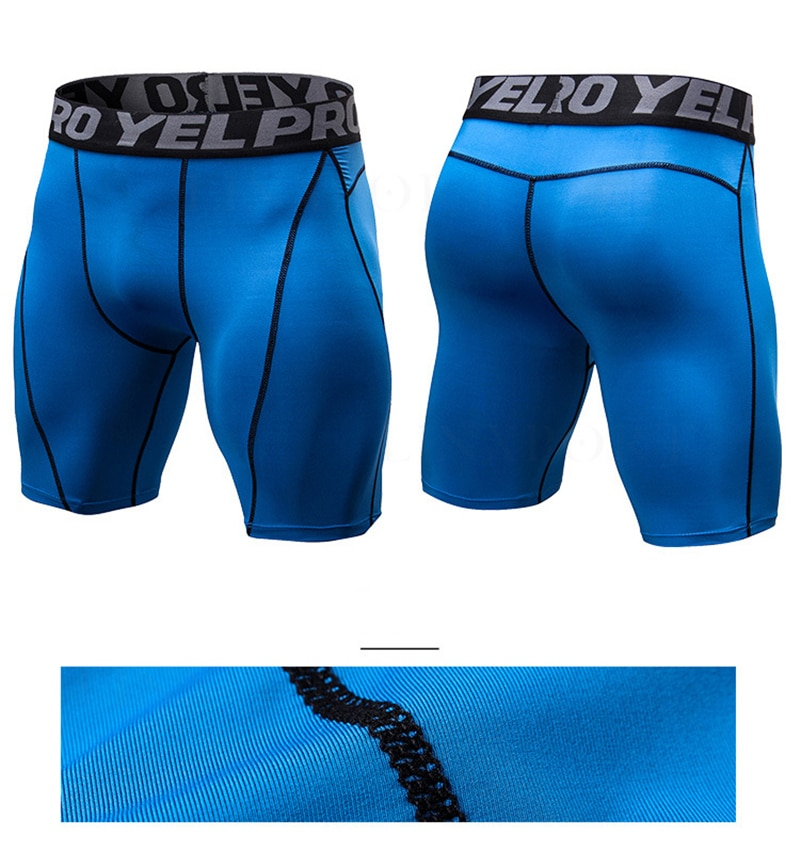 Men's Sports Spandex Compression Running Tights