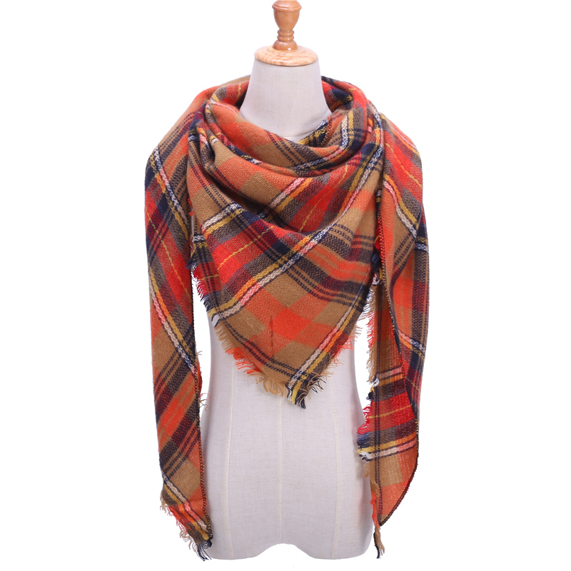 Women's Long Knitted Scarf